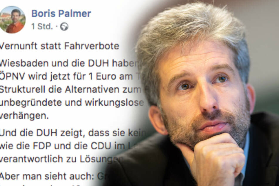 """Diesel-Fahrverbote in Deutschland: Das hält Palmer vom """"Grenzwert-Fetischismus"""""""