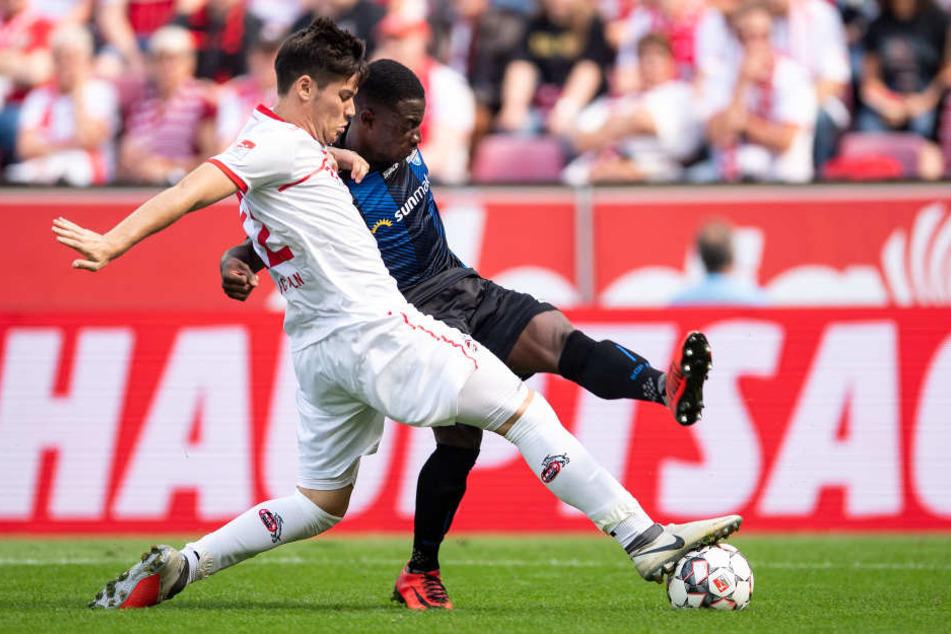 Jorge Mére (21) ist derzeit in der Innenverteidigung des 1. FC Köln gesetzt.