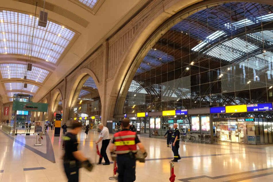 Auf dem Leipziger Hauptbahnhof ist es am Montag zu einem Brand gekommen. (Symbolbild)