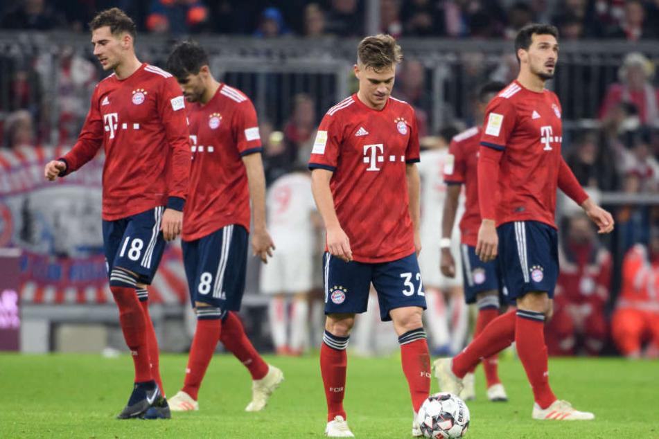 Der FC Bayern kann mit seiner Leistung gegen Fortuna Düsseldorf nicht zufrieden sein.