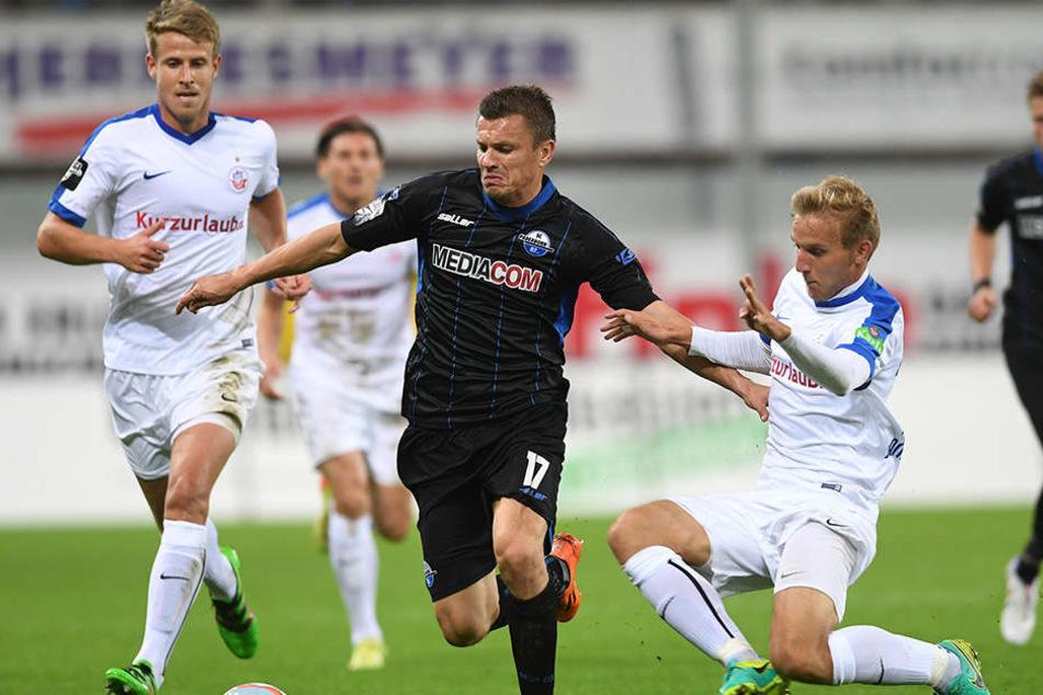 Zlatko Dedic im letzten Heimspiel gegen Hansa Rostock, das 0:3 verloren ging.