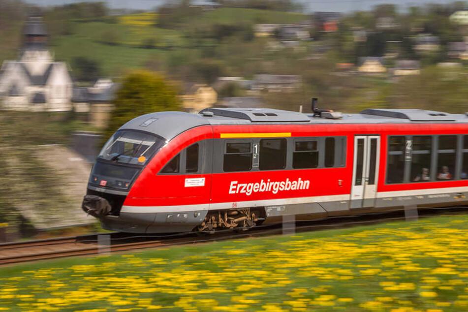 Der Streckenabschnitt Thalheim Aue ist bis 22. September voll gesperrt. (Archivbild)