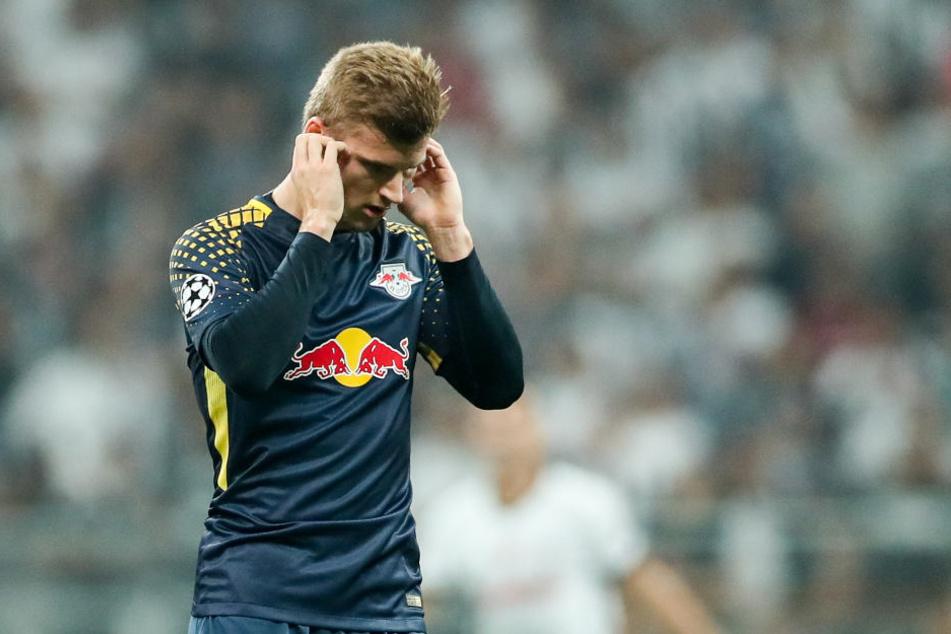 Timo Werner musste mit Kreislaufproblemen gegen Besiktas Istanbul frühzeitig vom Feld. Ein Einsatz in Köln entscheidet sich kurzfristig.