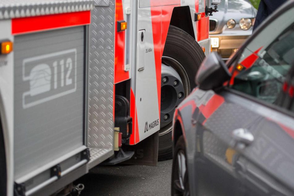 Durch Falschparker geht es in manchen Straßen recht eng zu für die Rettungskräfte