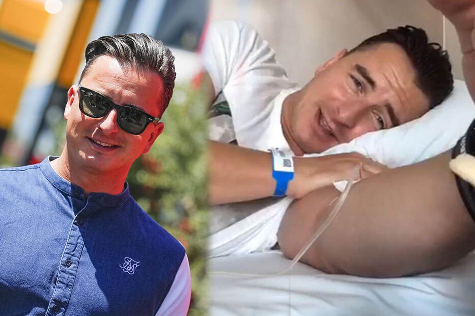 Krankenhaus! Andreas Gabalier liegt seit Tagen flach