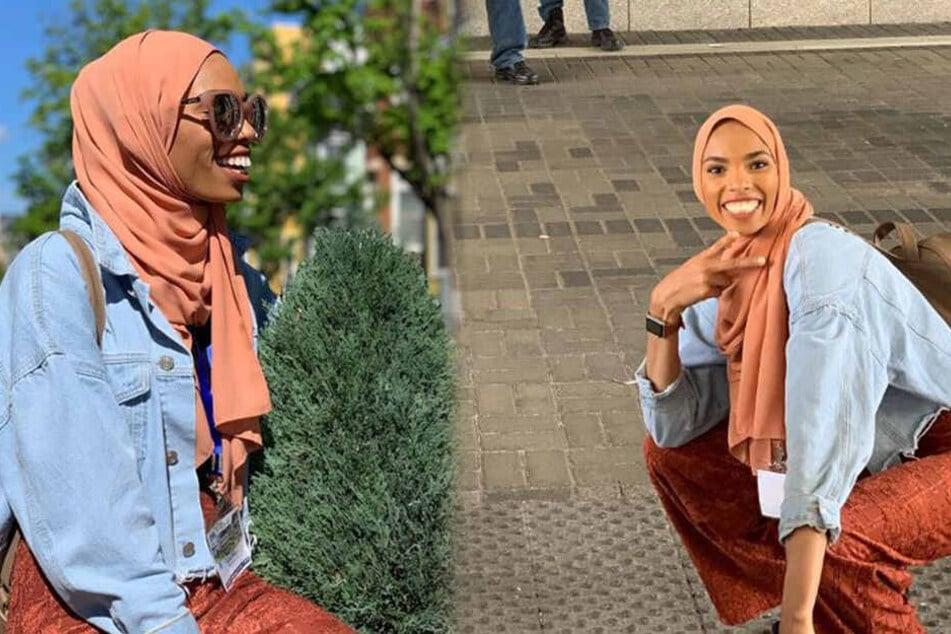 Muslima wird von Demonstranten beschimpft: Ihre Reaktion ist unglaublich