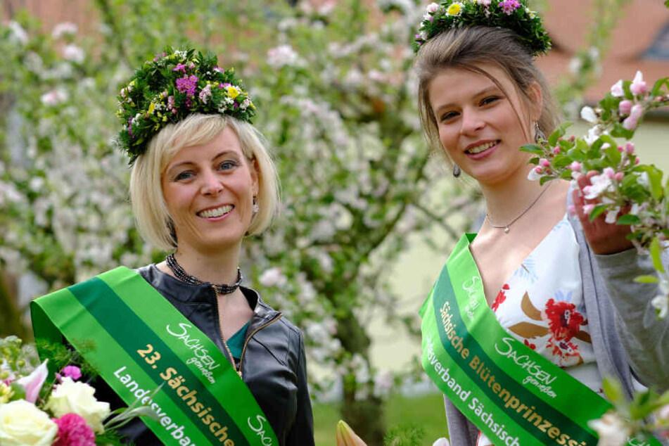 Gemeinsam mit Blütenprinzessin Elisabeth (22) aus Schmölln wird die Leipzigerin die Obstbauregion auf Veranstaltungen und Messen vertreten.