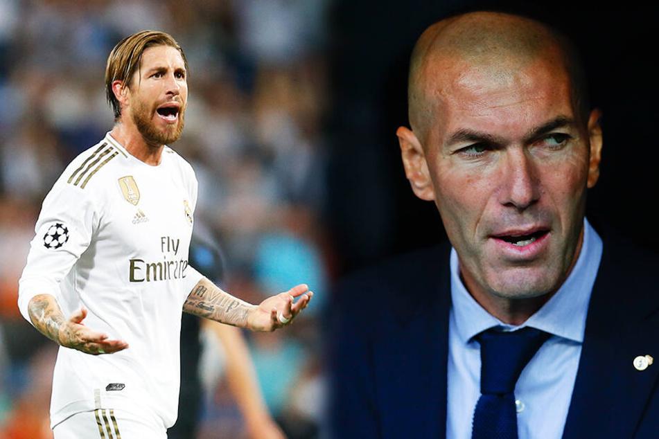 Krise bei Real Madrid! Darum wackelt Zinedine Zidane