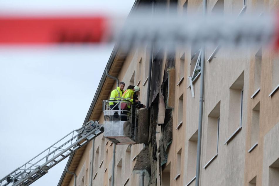 Seine Wohnung im Barclayweg im Stadtteil Meusdorf flog im Oktober 2017 in die Luft.