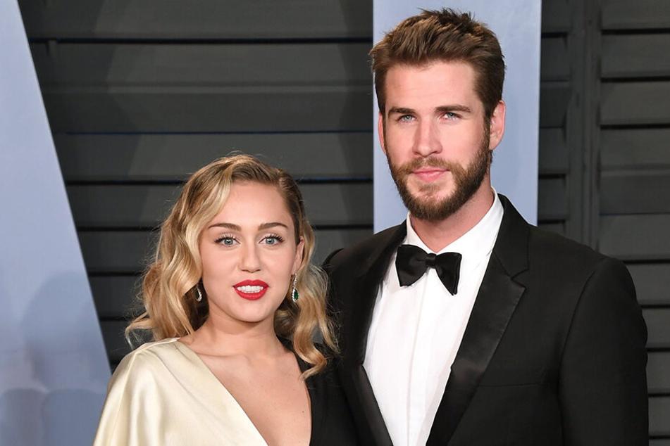 Liam Hemsworth und Miley Cyrus heirateten ein Tag vor Weihnachten.