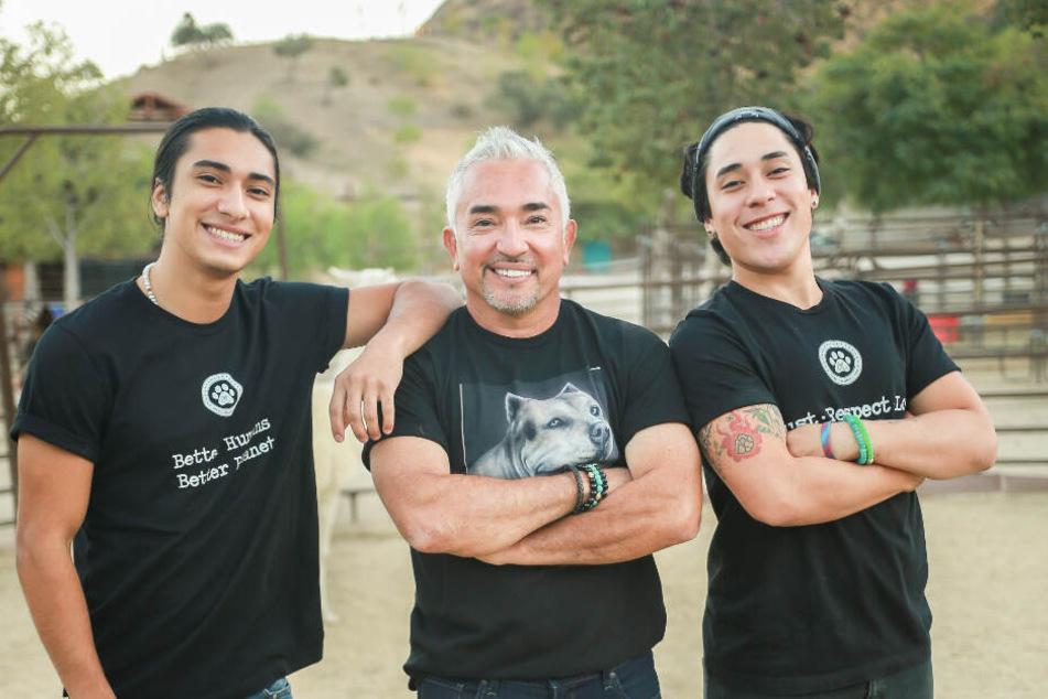 Erstmals werden ihn dabei auch seine beiden Söhne Calvin (links) und Andre begleiten.