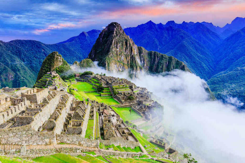 Die Inka-Tempel des Machu Picchu gehören zum UNESCO-Weltkulturerbe.
