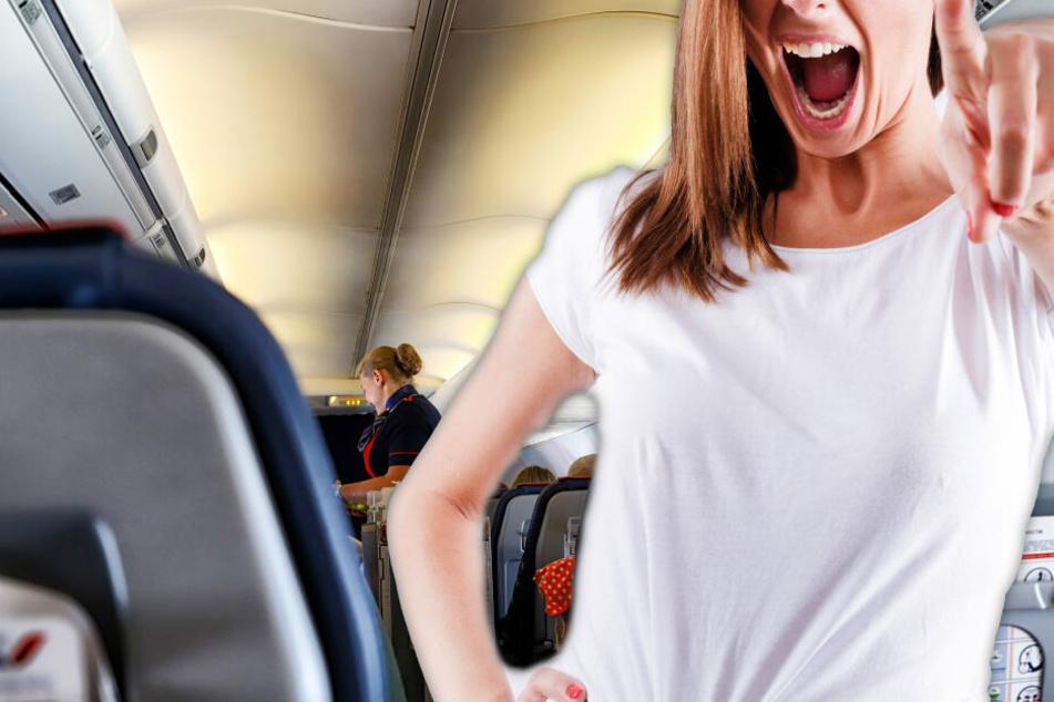 Panik im Flieger nach Griechenland: Frau droht mit Bombe im Gepäck