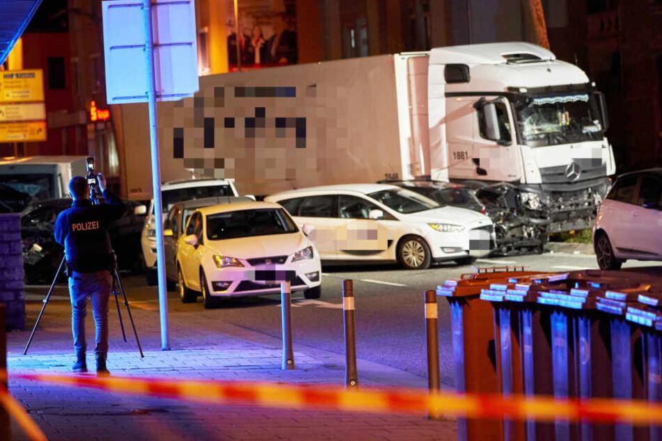 Der tatverdächtige Syrer soll den Laster kurz vor dem Zwischenfall gekapert haben.