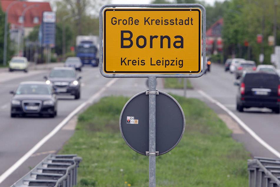 Die Stadt Borna war laut des Berichts mit 20 rechtsmotivierten Vorfällen trauriger Spitzenreiter im Jahr 2016.
