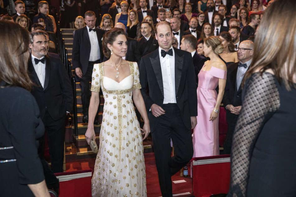 William und Kate: So reagierten sie auf Brad Pitts Royal-Witz