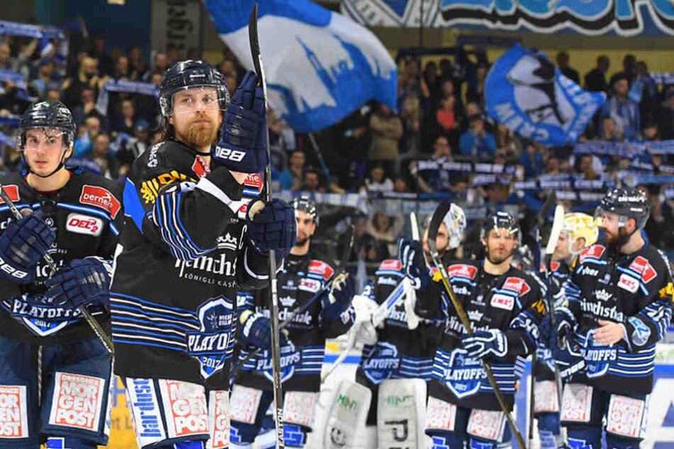 Die Dresdner Eislöwen müssen den Traum von der ersten Liga anscheinend endgültig begraben.