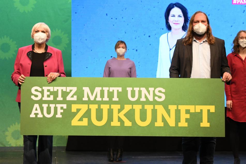 Roth und Hofreiter führen bayerische Grüne in die Bundestagswahl