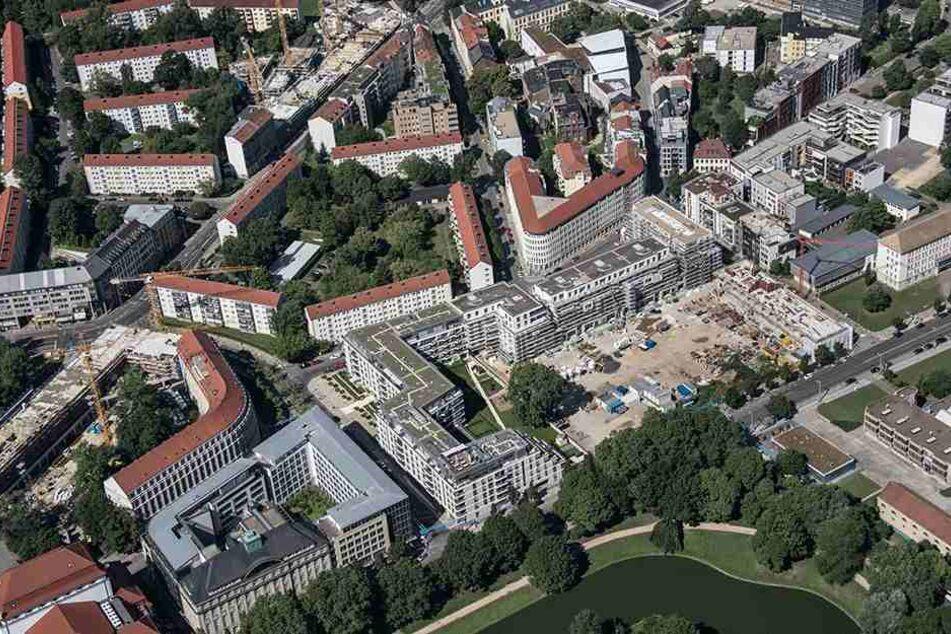 Der Siedlungsdruck auf Dresdens Innenstadt steigt weiter. Es gibt allerdings auch noch einige Baulücken.