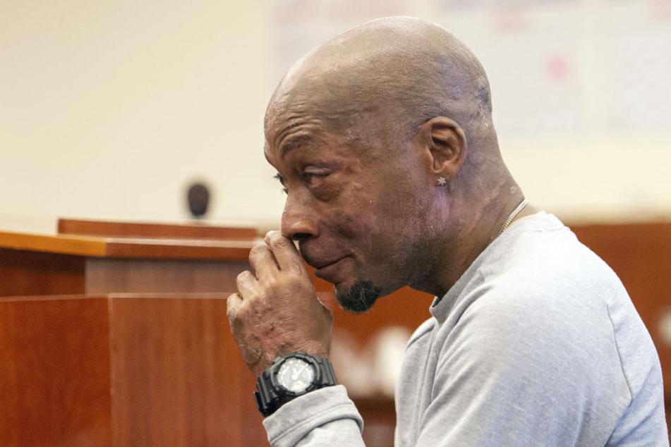 Kläger und Krebs-Opfer Dewayne Johnson im Monsanto-Prozess.