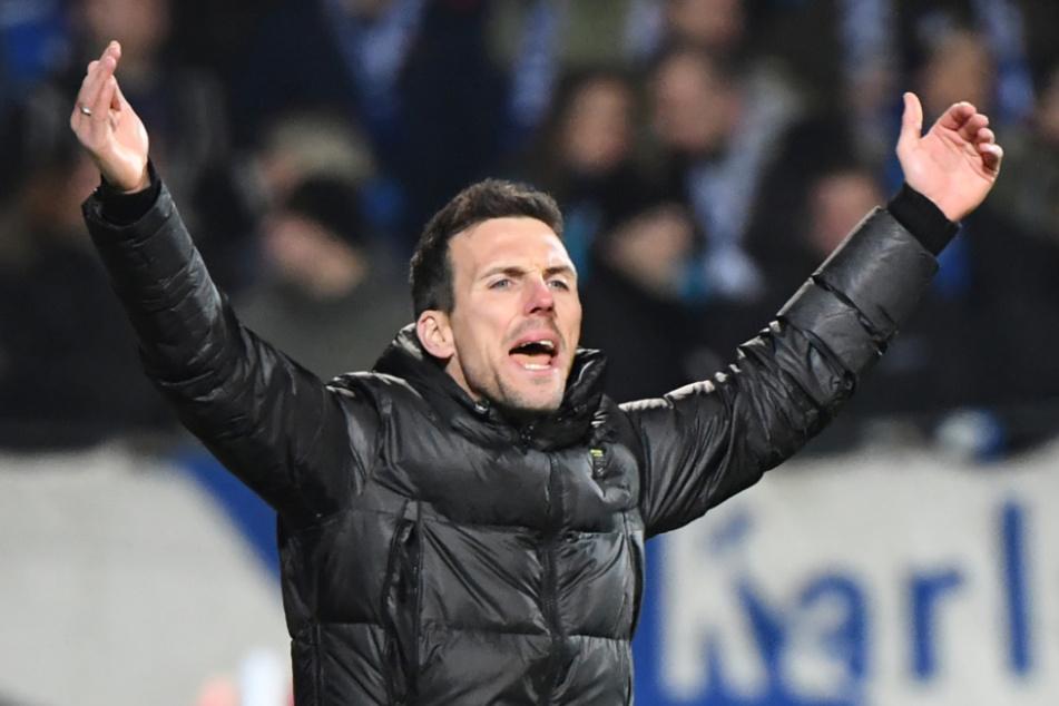 Christian Eichner, der Trainer des Fußball-Zweitligisten Karlsruher SC.