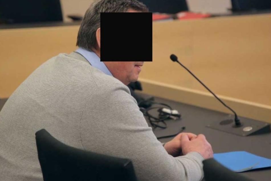 Ulrich Z. am Dienstag vor Gericht.