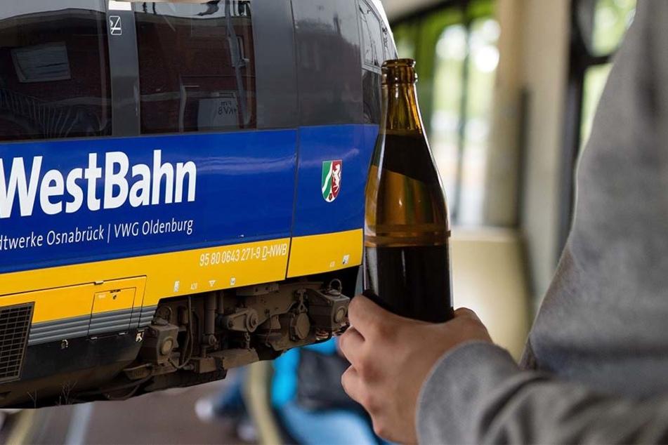 In NordWestBahnen gilt ab sofort ein striktes Alkoholverbot.