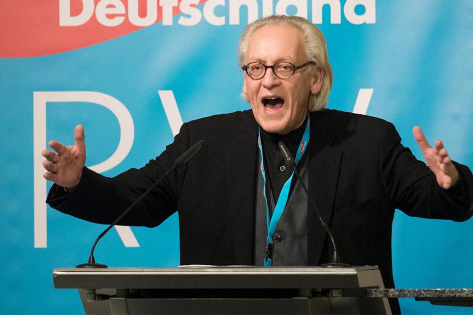 NRW-AfD-Chef Martin Renner hat den Landesparteitag abgesagt.