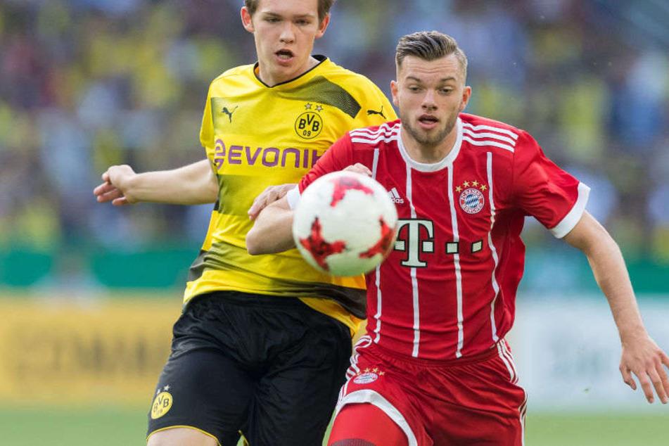 Manuel Wintzheimer (r.) unterschrieb beim HSV einen Vertrag bis zum Jahr 2022.