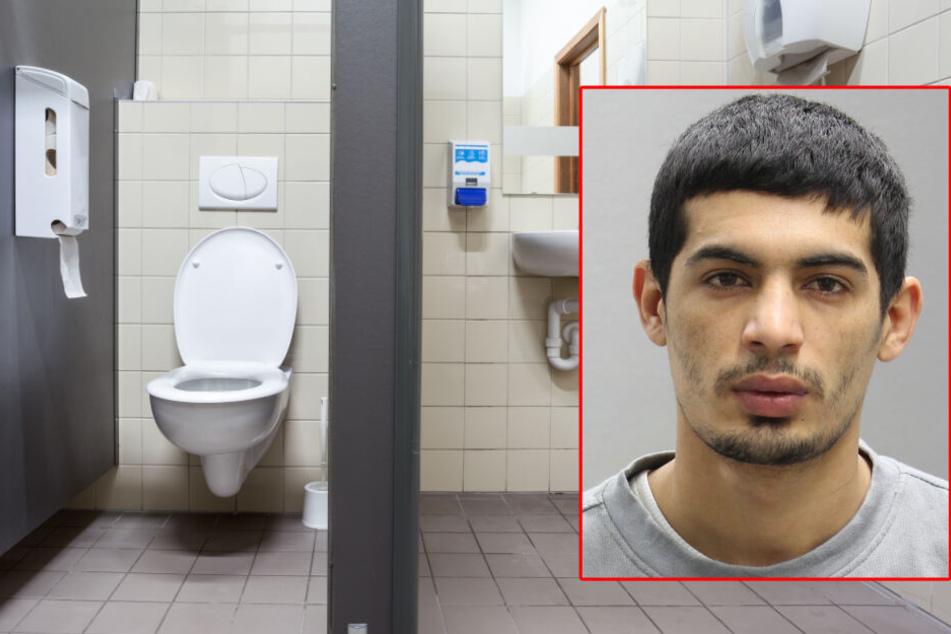 Der Mann nutzte eine Toilettenpause und floh aus dem Fenster.