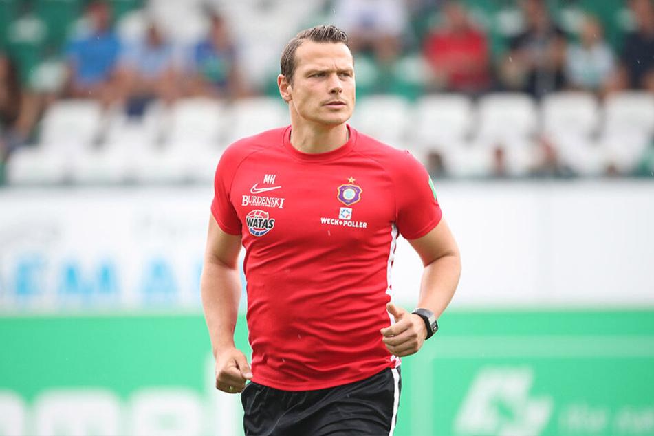 Marc Hensel (Foto) und Co-Trainer André Meyer übernehmen vorerst das Training der 1. Mannschaft.