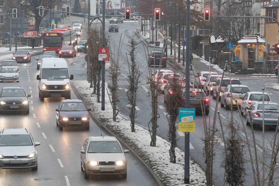 Immer mehr Pendler fahren vom Umland nach Dresden zur Arbeit.