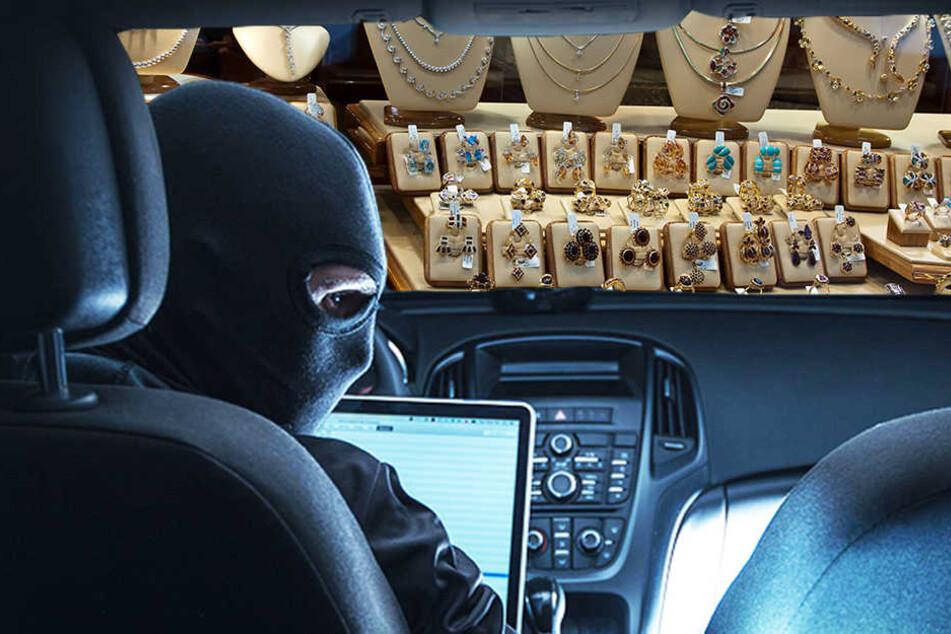 Mit dem Auto krachten Diebe in Detmold in ein Juweliergeschäft und raubten es anschließend aus. (Symbolbild)