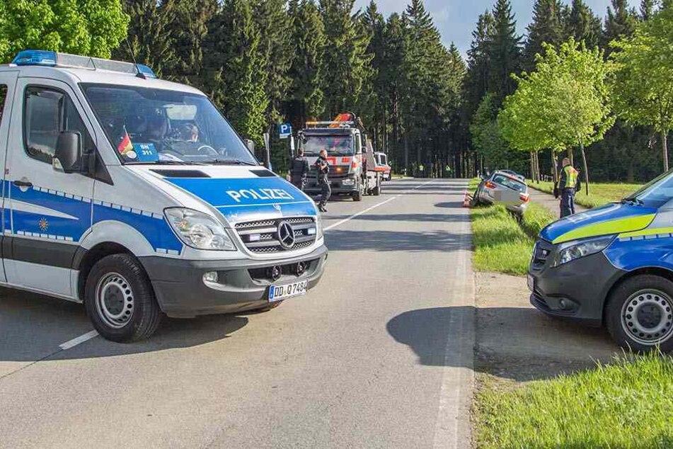 Der Motorradfahrer landete schwer verletzt im Krankenhaus.