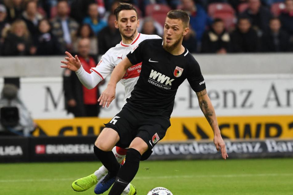 VfB Tempo-Spieler Anastasios Donis besorgte die 1:0-Führung für den VfB (39.).