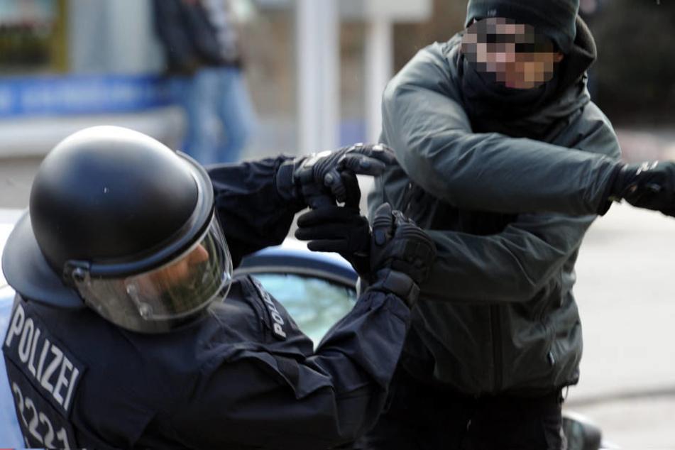 7058 Angriffe auf Polizeibeamte wurden 2017 registriert.
