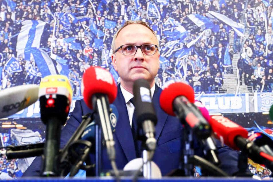 HSV-Investor Kühne fordert: Hamburg soll HSV-Schulden übernehmen