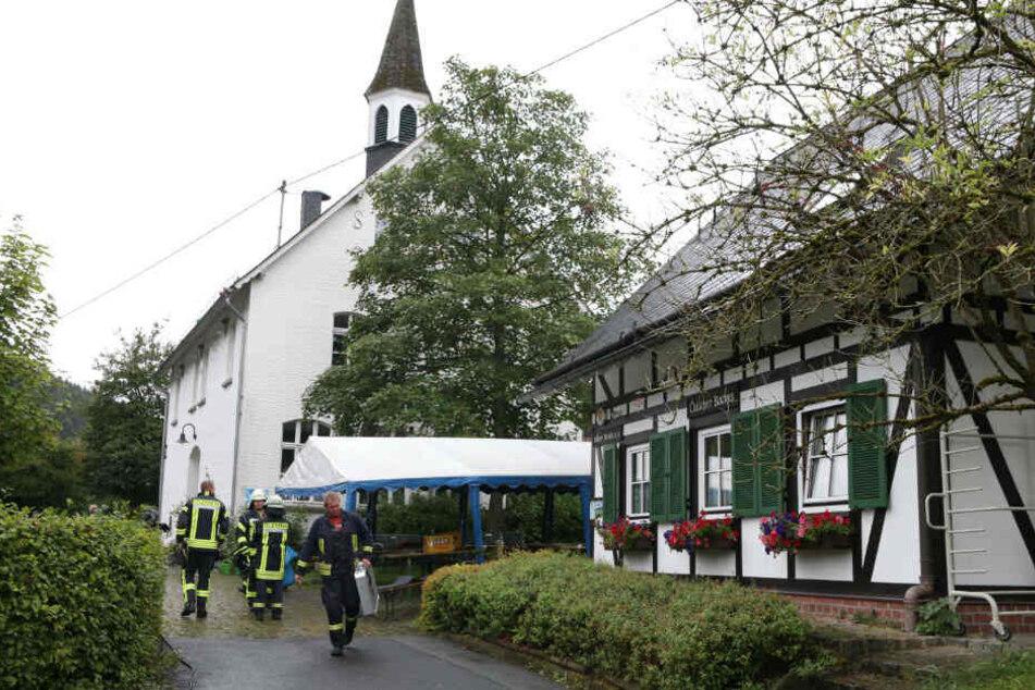 Bei einem Brauchtumsfest in Freudenberg explodierte am Wochenende eine Pfanne.