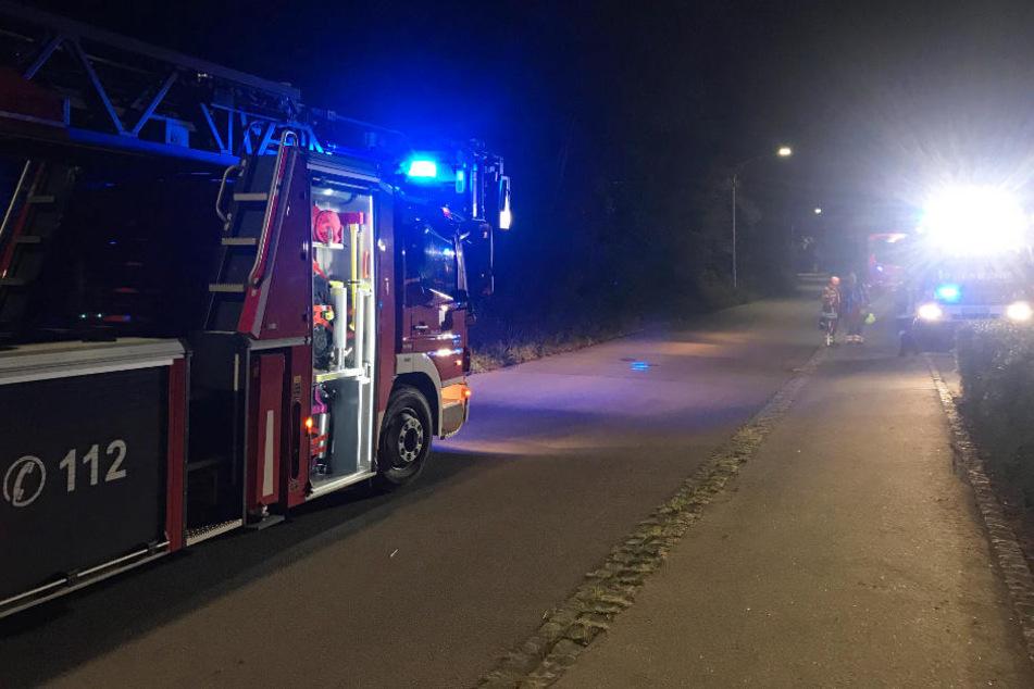 Die Feuerwehr konnte den Brand in einer Asylunterkunft in Abensberg schnell unter Kontrolle bringen.