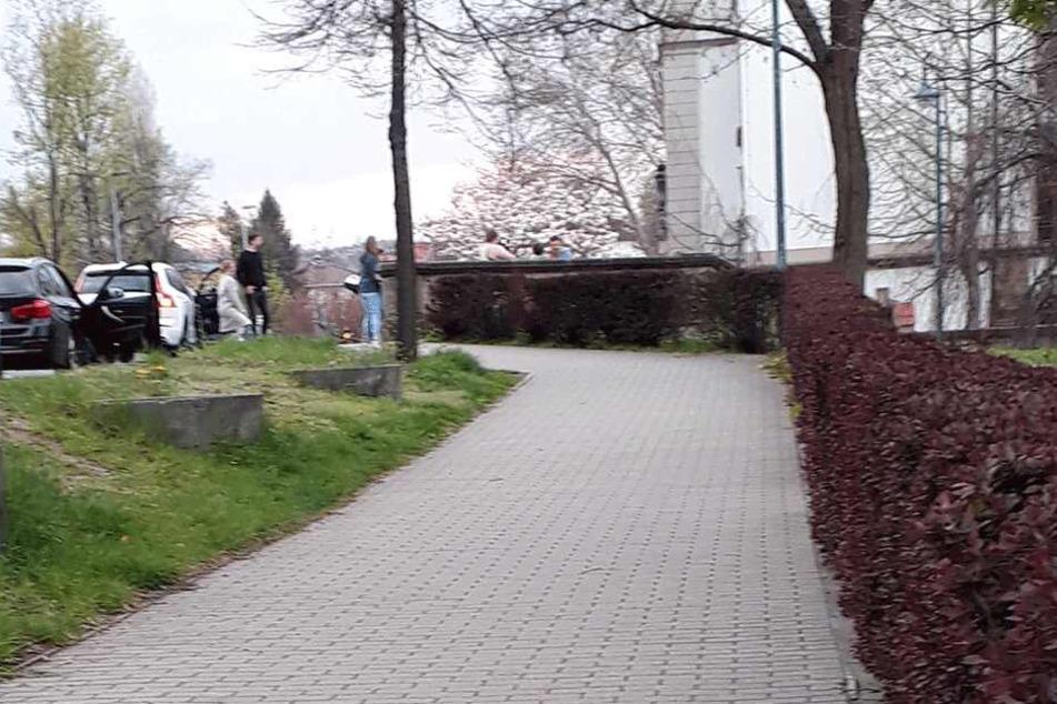 Auf der Königsteiner Straße fand der Angriff statt.