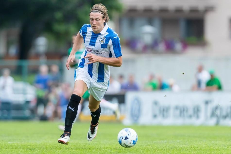 Michael Hefele spielt seit der Saison 2016/17 bei Huddersfield in der 2. englischen Liga.