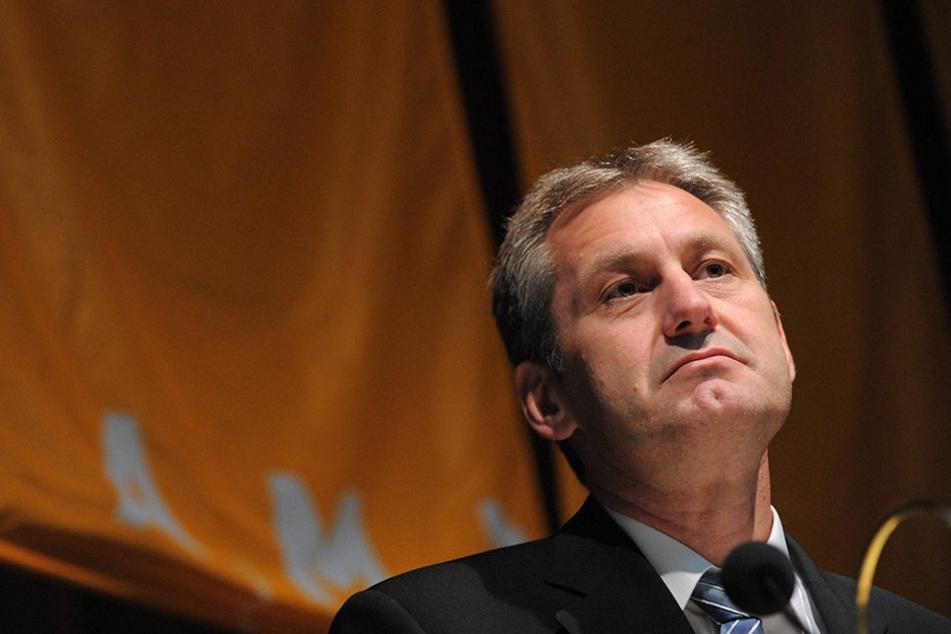 Bundesagentur-Vorstand Raimund Becker (57).