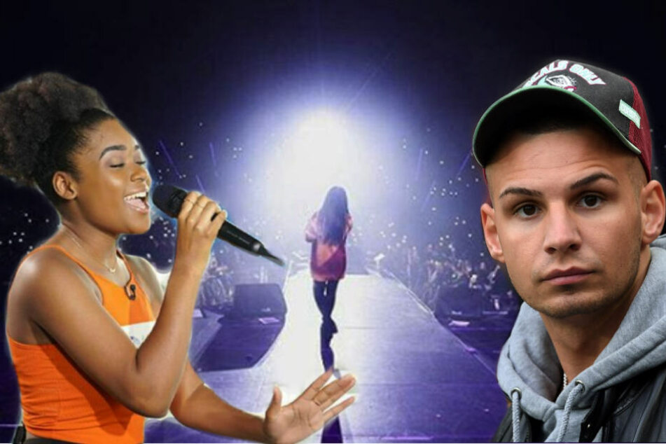 Jayla Ndoumbé Epoupa hat am Samstagabend die Stuttgarter Bühne gerockt.