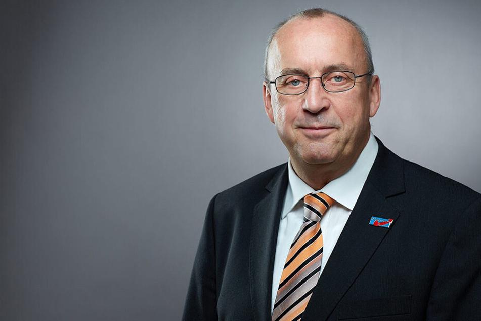 Frank-Frieder Forberg (63) hat am Oberlandesgericht Dresden Recht bekommen.