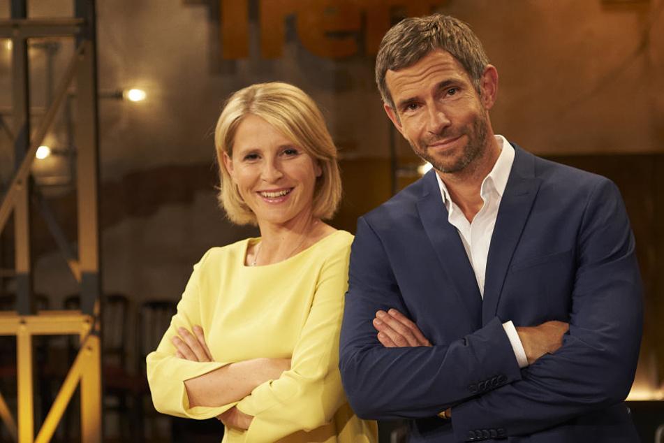 """Das Moderatoren-Duo Susan Link (41) und Micky Beisenherz (41) wird fester Bestandteil der WDR-Sendung """"Kölner Treff""""."""