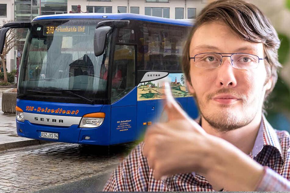 Jobcenter gibt grünes Licht: Mann mit Behinderung darf Busfahrer werden