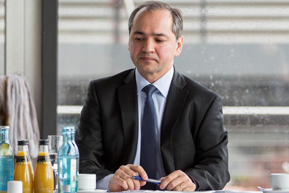 Tief getroffen: Octavian Ursu (51, CDU)