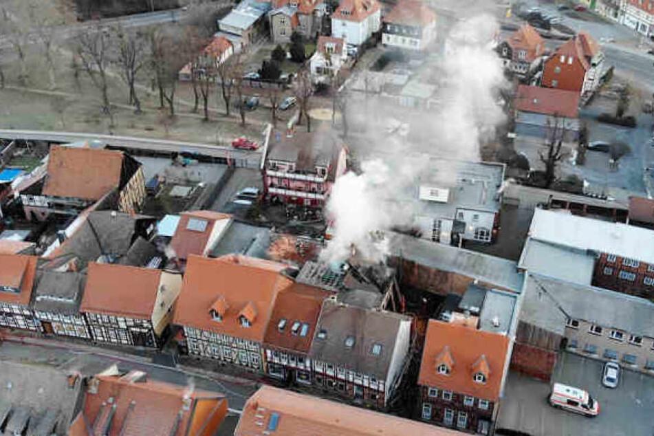 Nach ersten Erkenntnissen verursachte ein Kabelbrand das Feuer in dem Hotel.