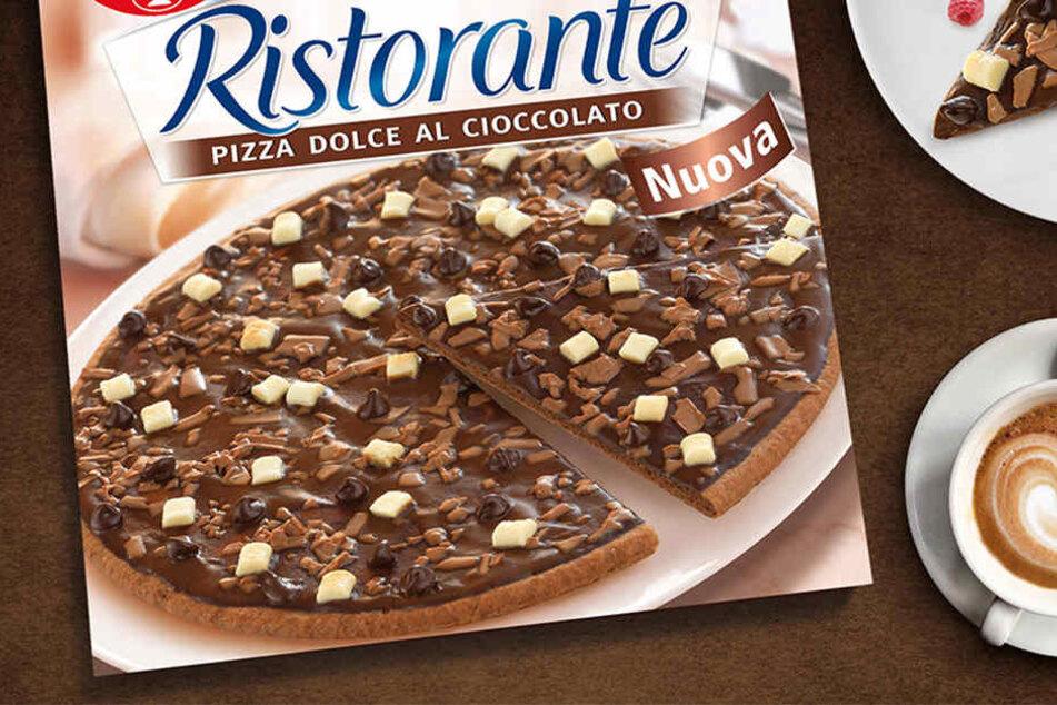 Eine Schokladen-Pizza will Dr. Oetker im April auf den Markt bringen.