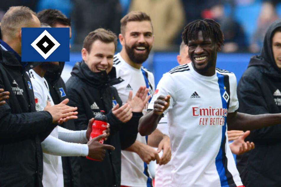 """HSV-Fans feiern nach Heimsieg Jatta: """"Es ist eine Ehre für mich!"""""""